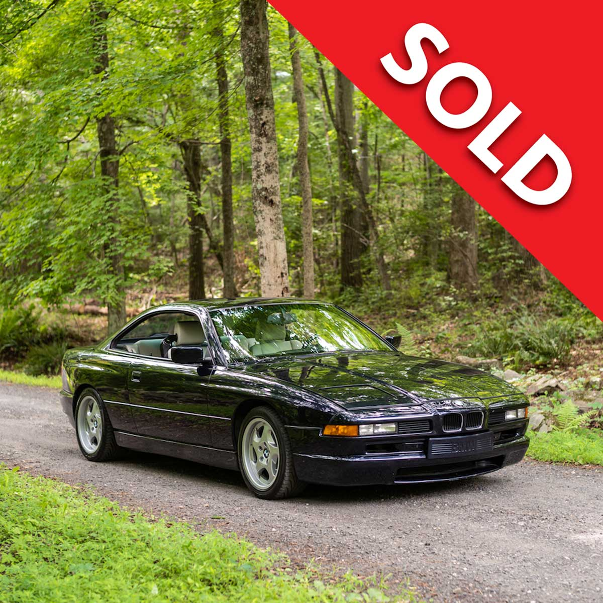 SOLD – 1994 BMW 850CSi – Road and Track Test Car