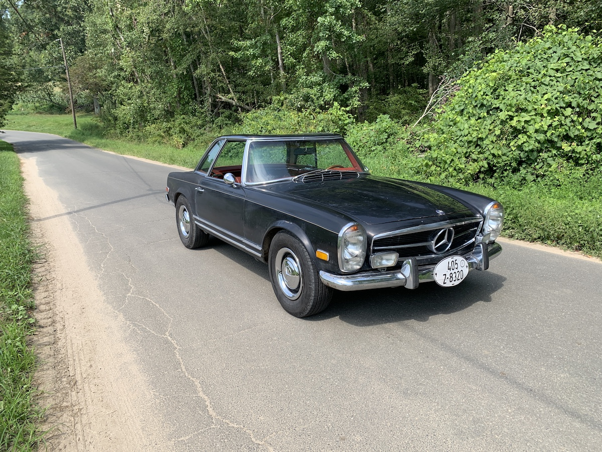 1968 Mercedes Benz 250SL for restoration.