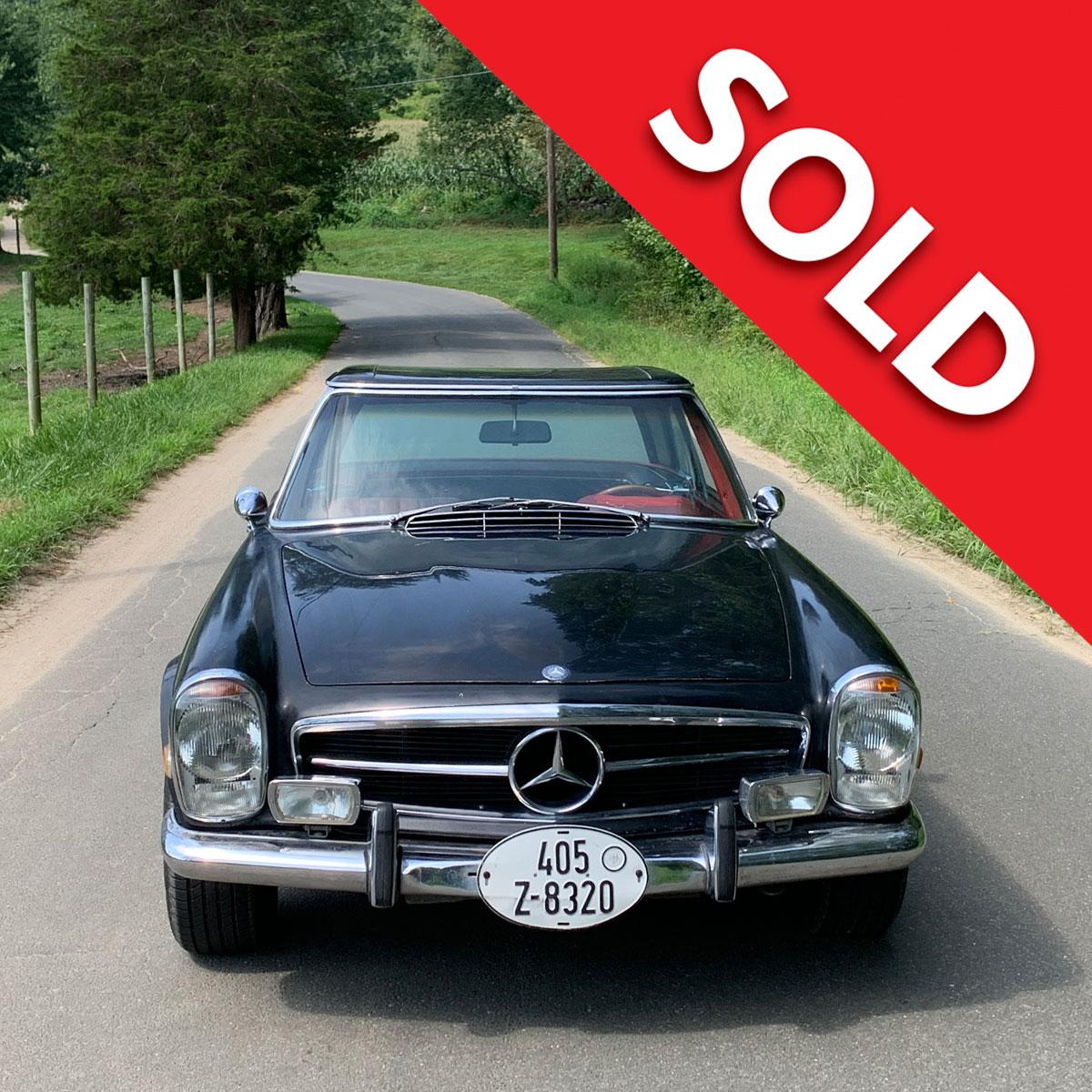 1968 Mercedes Benz 250SL for restoration